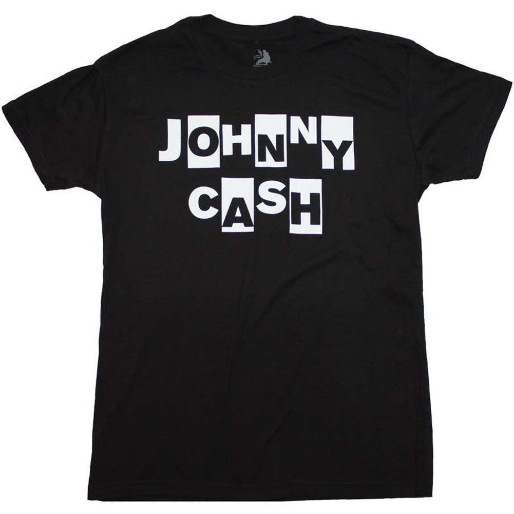 Men's Johnny Cash Ransom T-Shirt Man In Black Rockabilly Music