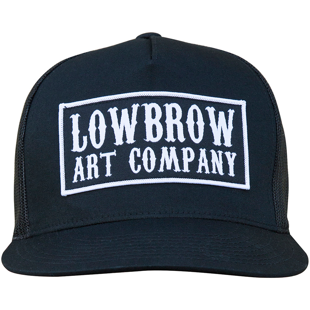 Lowbrow Art Western Trucker Hat Black Logo 2d09ce5af9f