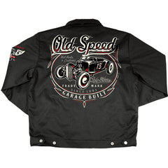 Men's Lucky 13 Old Custom Lined Jacket Black Rat Rod Kustom Kulture