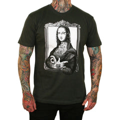 Men's Mona T-Shirt by Jarad Bryant Tattoo Ink Lisa