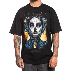Men's Sullen Muerta Eyes T-Shirt Black