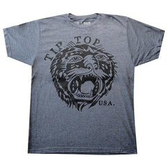 Men's Tip Top Industries Tiger T-Shirt Traditional Tattoo Art