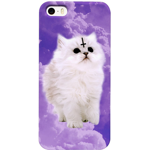 Pastel Satan Cat Phone Case