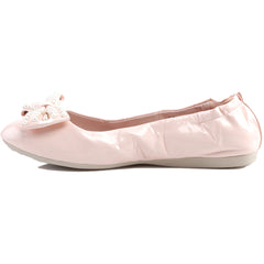 Pin Up Couture IVY-09 Foldable Flat Pink Retro Rockabilly
