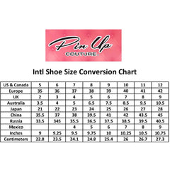 Women's Pin Up Couture OLIVE-08 Foldable Flat Baby Pink Retro