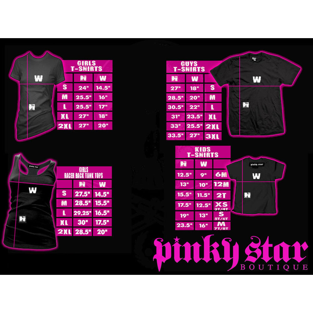 Women's Pinky Star Stay Weird Crop Hoody Black Goth Weirdo Creepy Girl