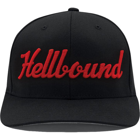 Red Devil Clothing Hellbound Hat Black Curved Bill