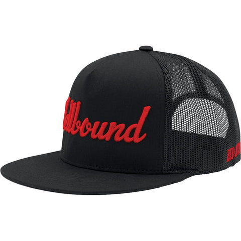 Red Devil Clothing Hellbound Trucker Hat Black/Red Evil Sinner