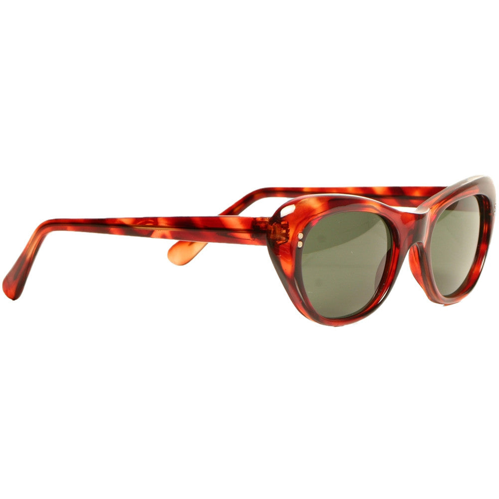 Replay Vintage Sunglasses Viola Tortoise Retro Rockabilly Cat Eye