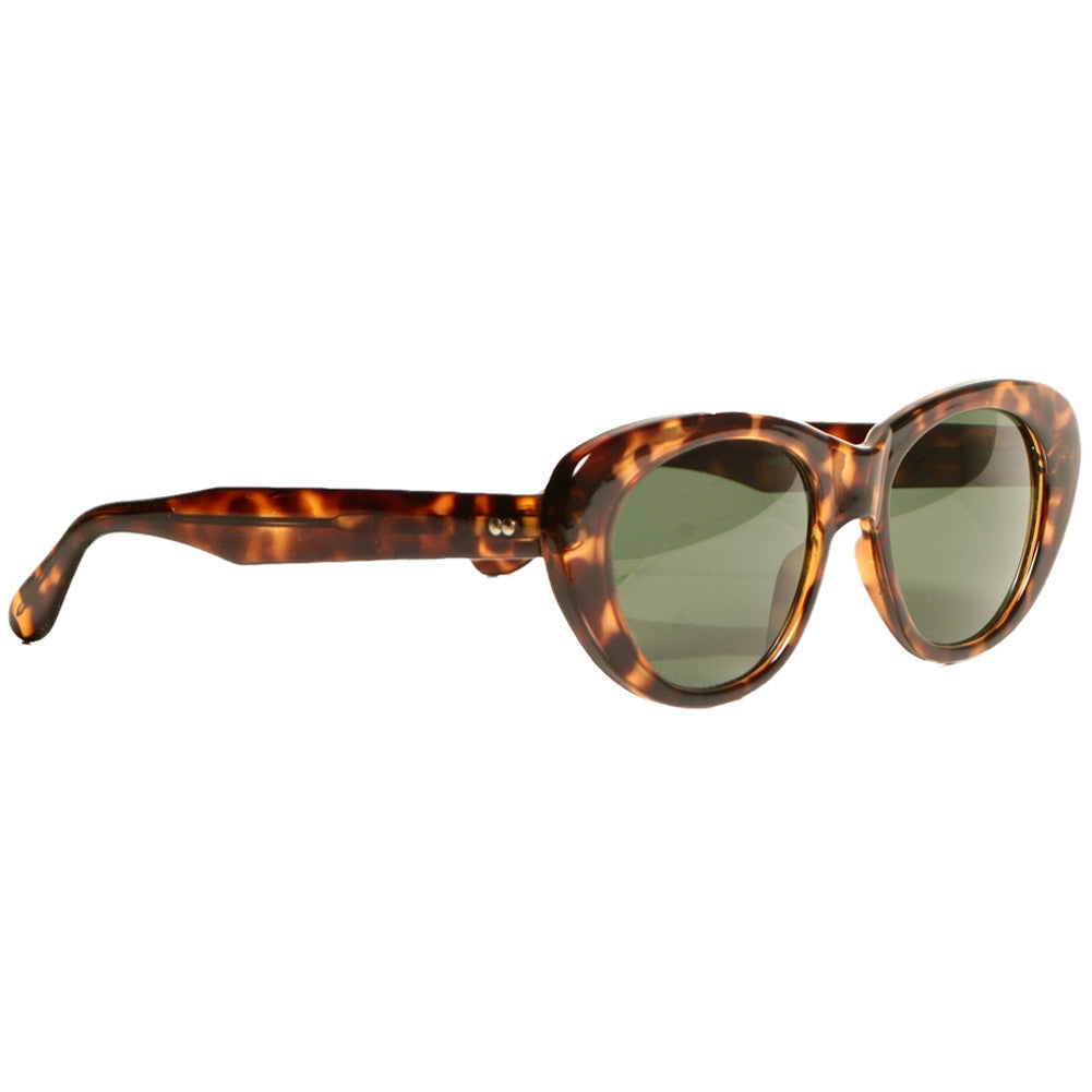 Replay Vintage Sunglasses Von Kat Tortoise Retro Rockabilly Cat Eye