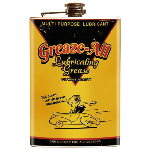 Retro A Go Go Greaze All Flask Yellow