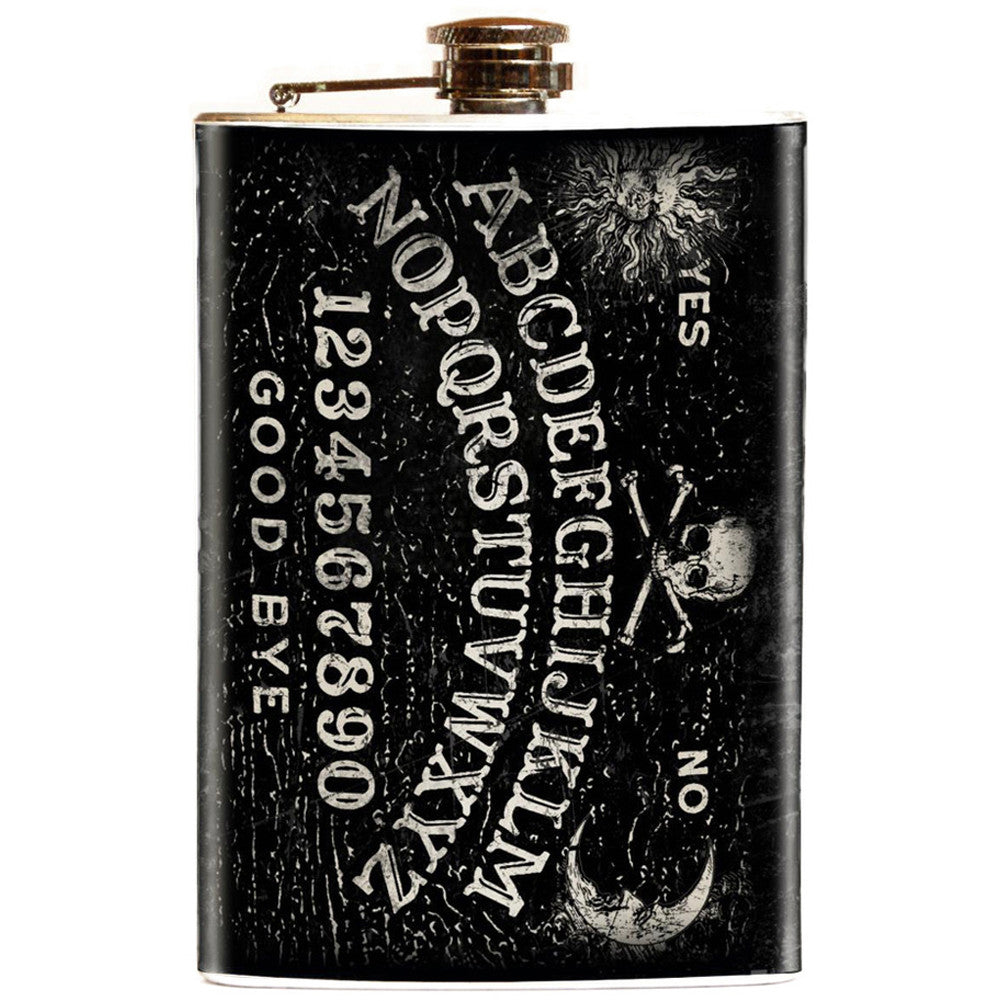 Retro-a-go-go! Magic Fortune Teller Flask Ouija Board Occult Paranormal Goth