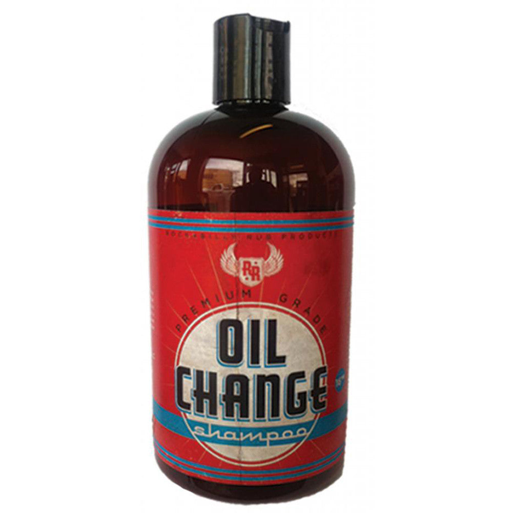 Rock-a Billy Rub Oil Change Shampoo For Men Rockabilly Psychobilly Grooming