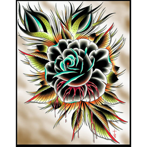 Rose Canvas Giclee By Tyler Bredeweg From 6500