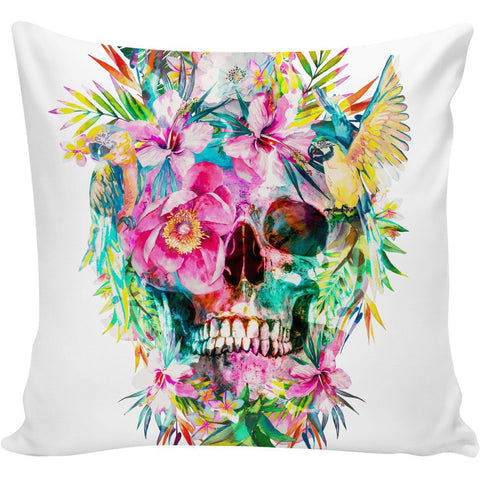 Skull Memento Mori Pillow