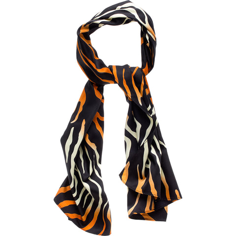 Sourpuss Jungle Princess Bad Girl Scarf Tiger Stripe Animal Print Rockabilly