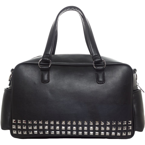 Sourpuss Studded Diaper Bag Punk Goth Alternative Mama Mother