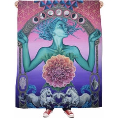 The Gate Of Knowledge Fleece Blanket