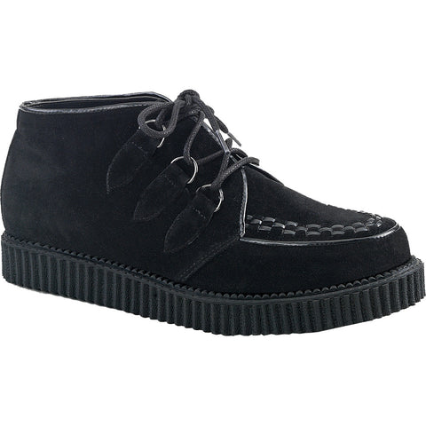 Unisex Demonia V-CREEPER-662 Platform Chukka Creeper Black Punk Goth Rockabilly