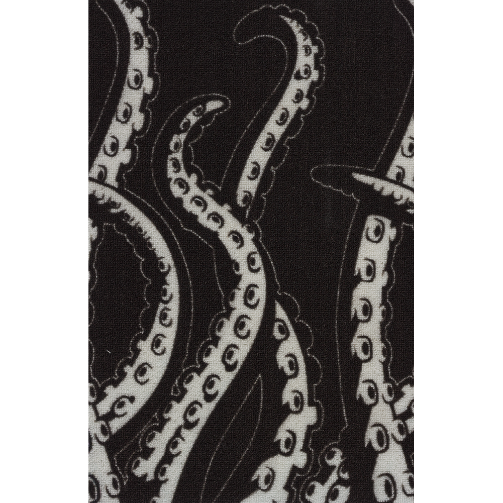 Sourpuss Tentacles Rug Black