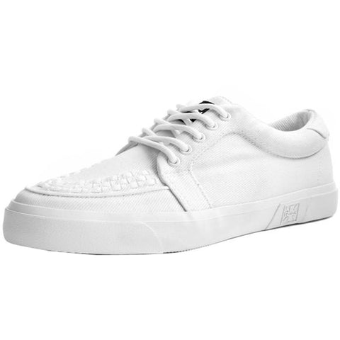 Unisex T.U.K. Canvas VLK Sneaker White Shoe
