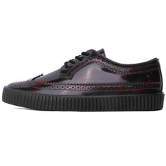 Unisex T.U.K. Rub Off EZC Brogue Shoe Burgundy Casual