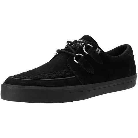 Unisex T.U.K. Suede D-Ring VLK Sneaker Black Shoes