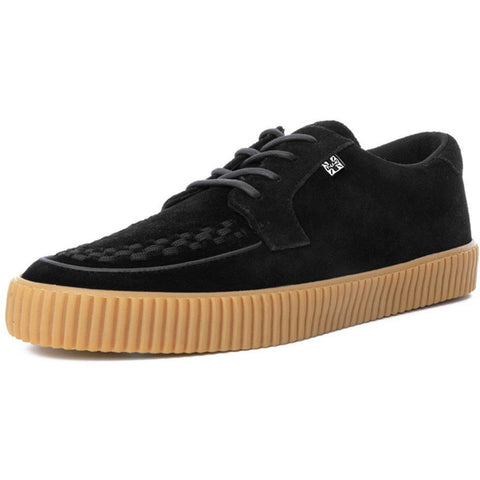 Unisex T.U.K. Suede EZC Shoes Black