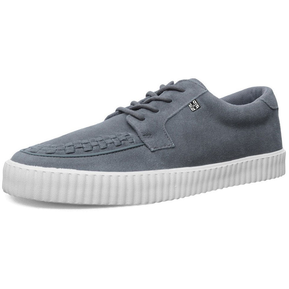 Unisex T.U.K. Suede EZC Shoes Grey