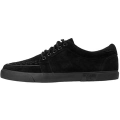 Unisex T.U.K. Suede No-Ring VLK Sneaker Black Shoes
