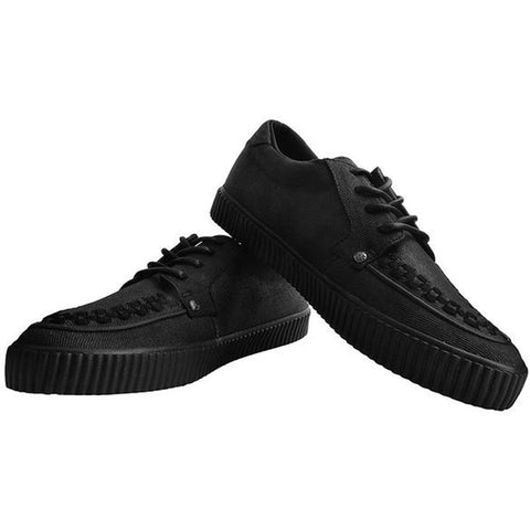 Unisex T.U.K. Wax Canvas EZC Black Shoe Alternative