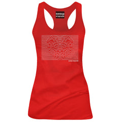Women's Aesop Originals Heart And Soul Tank Top Red   Valentines