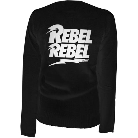 Women's Aesop Originals Rebel Rebel Cardigan Black Rockabilly