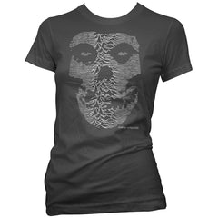Women's Aesop Originals The Unknown Ghost T-Shirt Black Punk Rock Music Skull