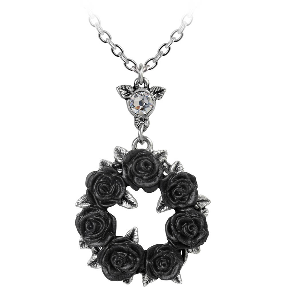 Women's Alchemy of England Ring 'O Roses Pendant Goth