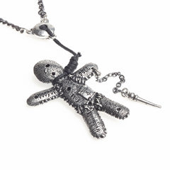 Alchemy of England Voodoo Doll Pendant Punk Goth