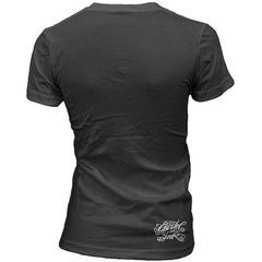 Women's Cartel Ink Addicted To Ink T-Shirt Black