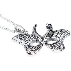 Controse Jewelry Butterfly Mask Necklace Wings