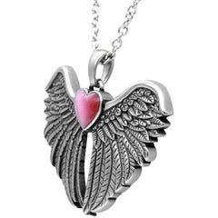 Controse Jewelry Forever With You Winged Heart Necklace Wings Love