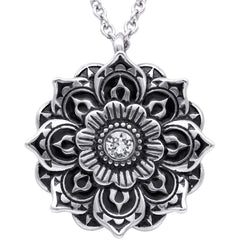 Controse Jewelry Mandala Necklace Spiritual Symbol of the Universe
