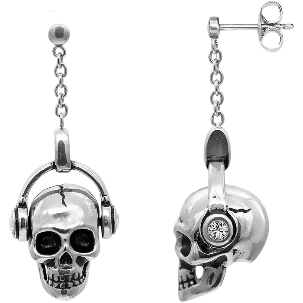 Controse Jewelry Rock 'N' Skull Earrings