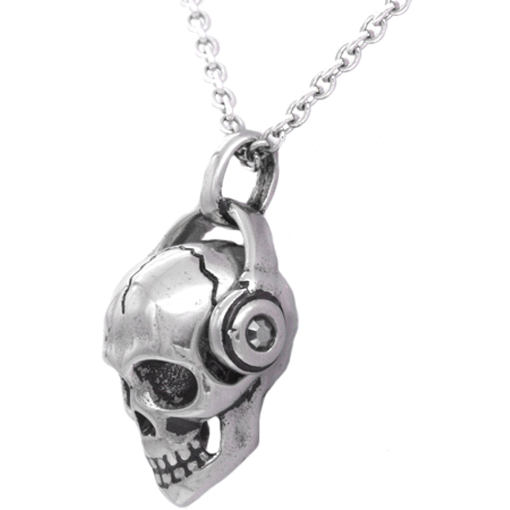 Controse Jewelry Rock 'N' Skull Necklace