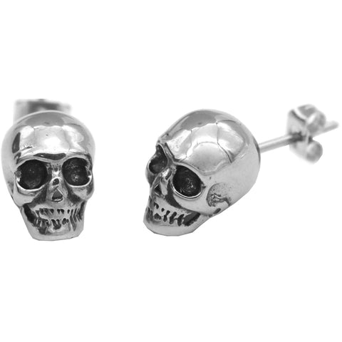 Controse Jewelry Skull Earrings Posts