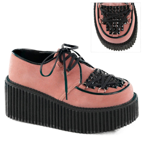 Women's Demonia CREEPER-216 Pink Shoe