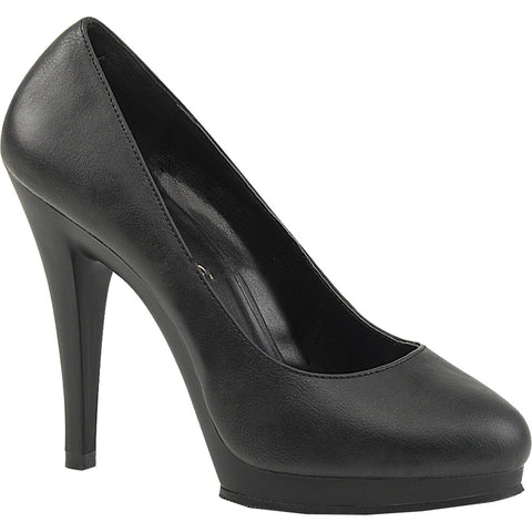 Women's Fabulicious Flair-480 Platform Stiletto Heel Pump Black Sexy Heel