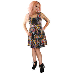 Folter Unhappy Hour Dress Monsters Ghouls Witches  Party Psychobilly