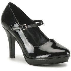 Women's Funtasma Contessa-50X Mary Jane Shoe Wide Width Black Patent