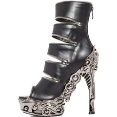 Hades LAWSON Platform Heel Black Goth Punk Alternative