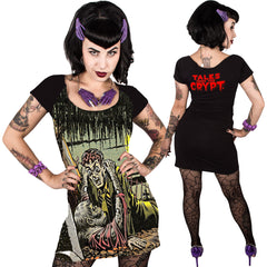 Women's Kreepsville Tales From The Crypt Gravebuster Dres Horror Zombie