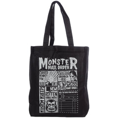 Kustom Kreeps Monster Mailorder Tote Bag Black Horror